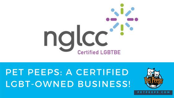 Pet Peeps Certified By NGLCC
